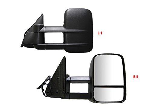 APS 2003-2019 Chevy/GMC Silverado/Sierra Power Heated Telescoping Towing Mirror Pair