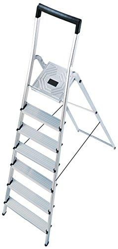 Hailo l40 easyclix - Escalera domestica l40 7 peldaños 212cm aluminio