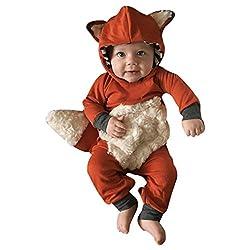 fox baby halloween costume