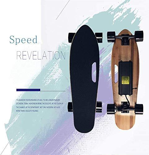 NOBRAND Gemotoriseerde Board voor Carving, Elektrische Longboard, E-Skateboard met afstandsbediening voor volwassenen, Aangepaste Batterij Case, Ergonomische Remote, Gemotoriseerde Board voor Carving