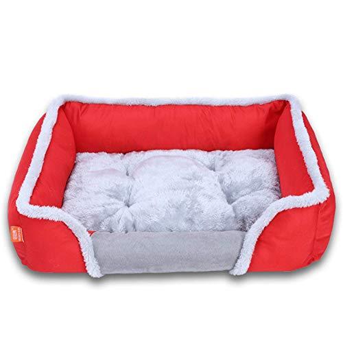 Cama Para Mascotas Camas Para Perros Caseta Para Perros Estera Para Dormir Para Perros Cojín Dormir Perrera Cama Cálida Suave Y Cómoda Para Mascotas Perros Medianos Gatos Mascotas Pequeñas,Brown-S