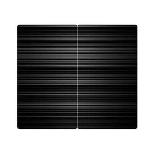 Herdabdeckplatten aus Glas m. Noppen von DekoGlas 2er-Set Herdabdeckung Schneidebrett Spritzschutz Muster