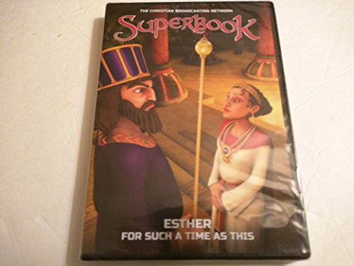 Superbook Esther For Such A Time As This DVD (The Christian Broadcasting Network)