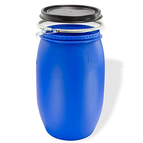 DEMA Maischefass 120 l, Weithalsfass, blau