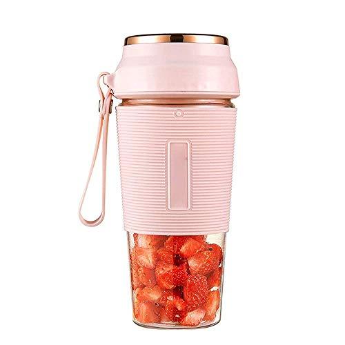 Water cup Exprimidor Eléctrico Exprimidor Portátil Carga Usb Taza Exprimidora Pequeña Mini Licuadora Batidora Diy Taza De Jugo Recién Exprimida Capacidad De 300 Ml Adecuado Para Of