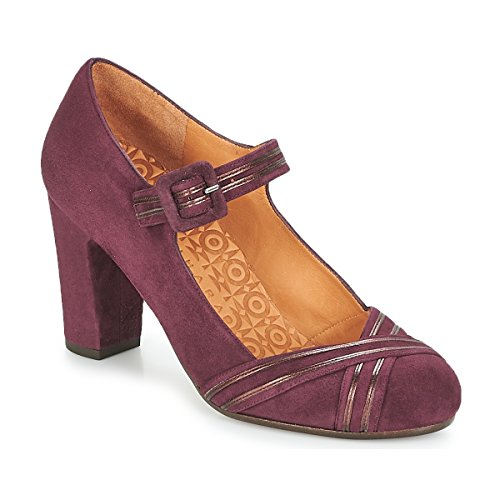 Chie Mihara Kalei Zapatos De Tacón Mujeres Burdeo - 39 - Zapatos De Tacón Shoes