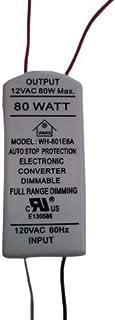 NSL XTL1280W Task Light Transformer 120 Volt Primary 12 Volt Secondary 80 Watt