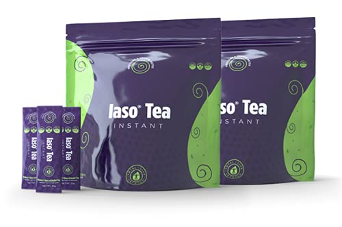 50 Sachets of TLC Total Life Changes IASO Natural Detox Instant Herbal Tea (2 Packs; 25 Units in Each Pack (Pack of 1))