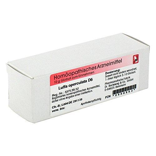 LUFFA OPERCULATA D 6 Globuli 10 g