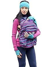 manduca by MaM Fleece Cover & Fleece Loop szal do noszenia dla niemowląt (Snuggle Cover Boho Print)