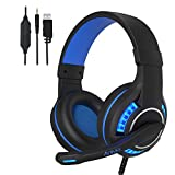 Best Sades Noise-cancelling Headphones - PS4 Gaming Headset for Xbox one/PC with Noise Review