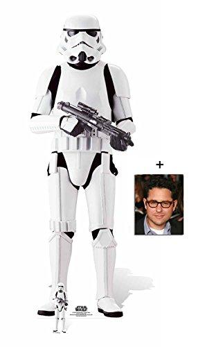 Fan Pack - Imperial Stormtrooper Rogue One: A Star Wars Story Lebensgrosse und klein Pappaufsteller - mit 25cm x 20cm foto