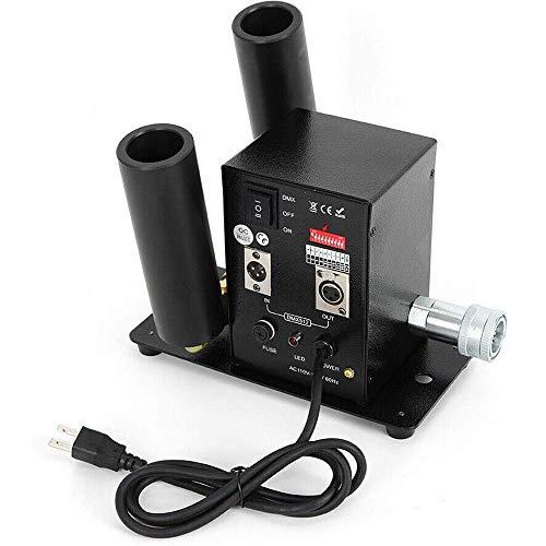 SIERINO Stage Effect CO2 Jet NebelMaschine - CO2 Nebelkanone 8-10M DMX512 CO2 Blaster für Bühne Live Halloween Party