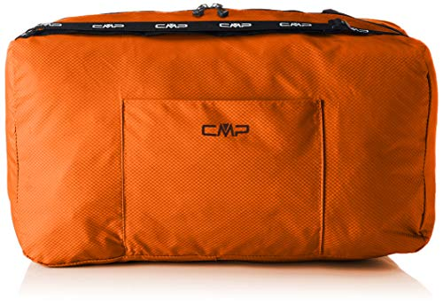 CMP Sacca da Palestra 25L, Borsone Unisex, Orange, Taglia Unica, Orange