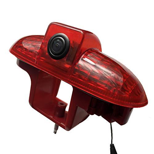 Rückfahrkamera Vivaro Kamera an 3. Bremsleuchte Dachkante Einparkhilfe (NTSC) für Vauxhall Vivaro X82 Mk3 Opel Vivaro Trafic Talento(2001-2014) Passend fürAutoradio DVD(2001-2014)