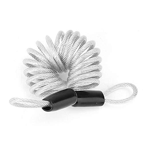 Bloqueo de alambre para evitar daños en el equipaje, casco de bicicleta
