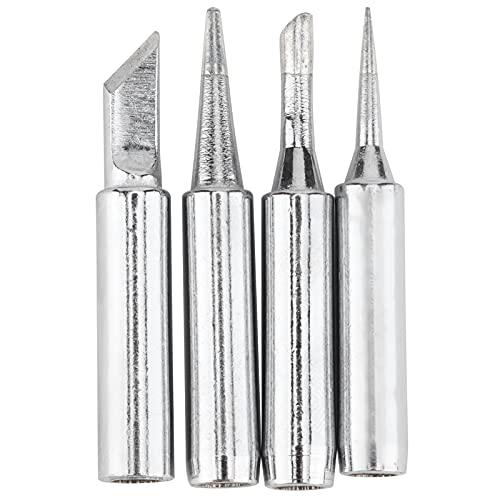 Puntas de soldador, kit de cautín de precisión Puntas de estación de soldadura multipropósito Puntas de soldadura para reparaciones electrónicas para bricolaje para el hogar
