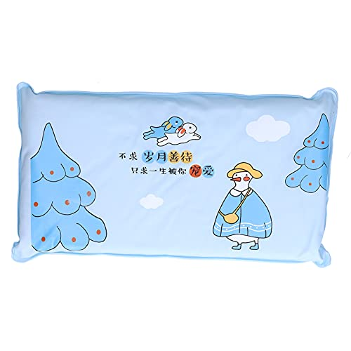 Meiyya Estera de enfriamiento, Almohada de Hielo de Mano de Obra hogar para la Familia(1017 Azul Cielo, Animales Polares)