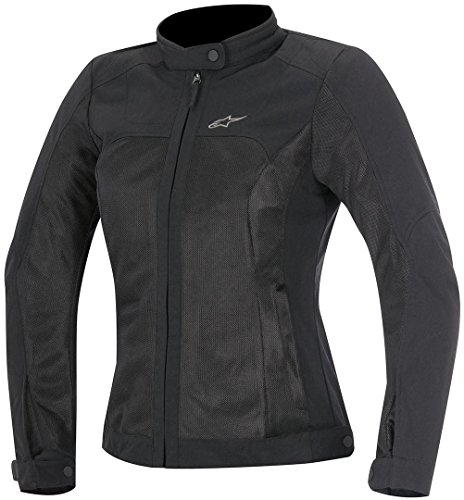 Alpinestars Chaqueta moto Eloise Womens Air Jacket Black, Negro, S
