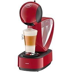 Pack Krups Dolce Gusto Infinissima KP1705 - Cafetera de cápsulas, 15 bares de presión, color rojo + 3 packs de café Dolce Gusto Espresso Intenso: Amazon.es: Hogar