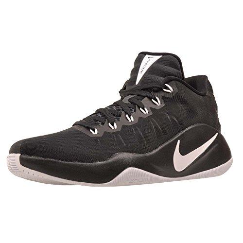 Nike Hyperdunk 2016 Low, Zapatillas de Baloncesto para Hombre, Negro (Negro (Black/White-Black), 43 EU
