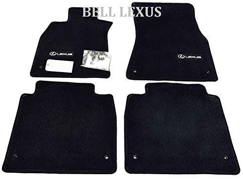 LEXUS OEM FACTORY FLOOR MAT SET 2009-2012 LS460L BLACK AWD LWB