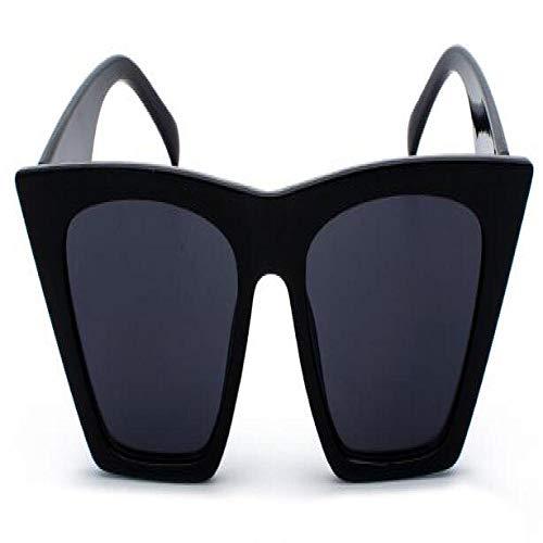 Modische Sonnenbrillen Classic Sonnenbrillen Frauen Übergroße Sonnenbrillen ShadesBlack Glasses Black