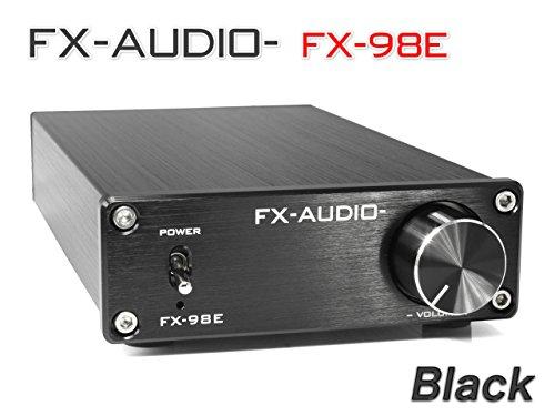 『FX-AUDIO- FX-98E 『ブラック』 TDA7498EデジタルアンプIC搭載 160Wハイパワーデジタルアンプ』の2枚目の画像