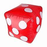 NUOVO e di alta qualità buoni regali per giochi, giocattoli per bambini, bambini favori Materiale: PVC Colore principale: rosso Dimensioni gonfiato: ca. 60x 60x 60cm/59,9x 59,9x 59,9cm
