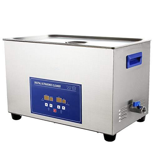 YUCHENGTECH Ultraschall-Reinigungsmaschine für Schmuck, 58 l, mit Heizung, Timer, 40KHZ