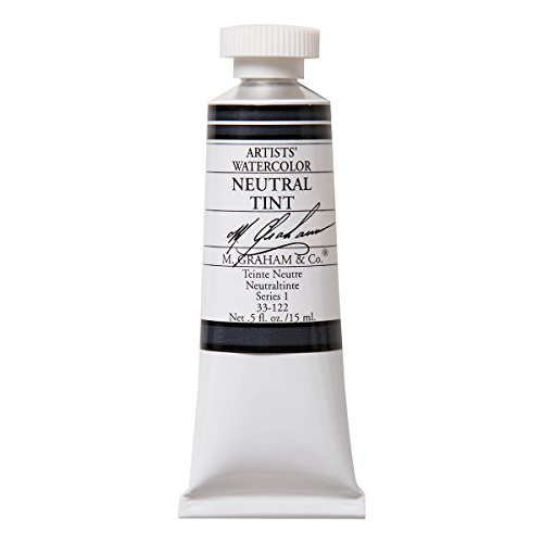 M. Graham 1/2-Ounce Tube Watercolor Paint, Neutral Tint