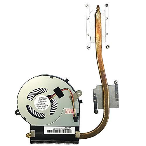 Price comparison product image Fan Cooler with Heatsink Compatible for Toshiba Satellite L50-B-1DV,  L50-B-1P3,  L50-B-23X,  L50-B-2J0,  L50-B-1DW,  L50-B-1P7,  L50-B-23Z,  L50-B-2J1,  L50-B-1DX,  L50-B-1P8,  L50-B-241