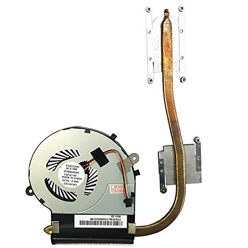 Lüfter Kühler Fan mit Kühlkörper für Toshiba Satellite L50D-B-15N, L50D-B-192, L50D-B-15Z, L50D-B-19W, L50D-B-163, L50D-B-1C5