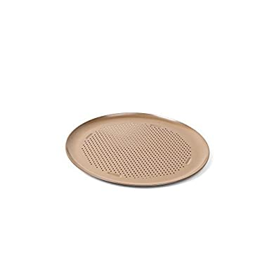 Calphalon 1893302 16-Inch Nonstick Pizza Pan ,Toffee