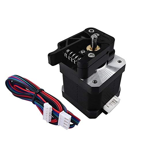 HUANRUOBAIHUO 3D-printer MK8 MK9 Extruder Feeder apparaat met 17 Stepper motor Rechterhand & Lefthand side kit 1.75mm / 3.0mm fliament 3D-printer Extruders accessoires (Size : Left 175mm)