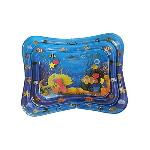 Review fivekim Best Kids Toys,40 Summer Inflatable Water Mat for Babies Safety Cushion Ice Mat Earl...