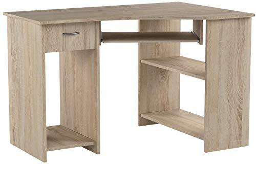 FMD Möbel Computertisch Felix 1 | In Eiche | 118 x 76 x 77 cm | 350-001