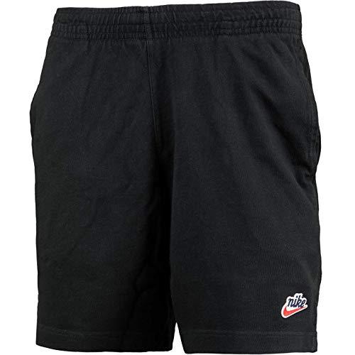 Nike Heritage Gym - Pantalones cortos, Primavera-verano, Hombre, color negro, tamaño L