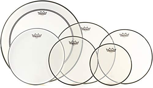 Remo Ambassador Complete Studio Drumhead Propack - 10 12 14 16 22 Inches Kick 14 Inches Snare