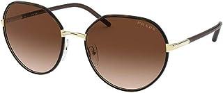 نظارات شمسية من برادا باطار ذهبي PR 65 XS 2AU6S1