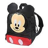 Funmo Mochila Mickey Mouse, Mochila Infantil con Minnie Mouse en Diseño 3D ,Mochila de Viaje para Deportes al Aire Libre, Regalo de Cumpleaños para Niños (A)