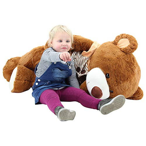 Sweety-Toys 5383 Riesen Teddy Teddybär LOVE YOU Bär 120 cm Teddybär mit Kapuzen T-Shirt LOVE YOU Plüschbär Premium Qualität Sweety-Toys supersüss
