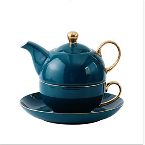 Cast Iron teapot Set Teapot Cup Saucer Set Teacup and Saucer Set with Lid and Saucer Coffee Cup for Christmas Birthday and Housewarming Gift