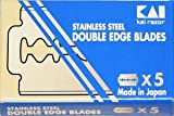 5 cuchillas de afeitar Kai – Stainless Steel (1 paquete)