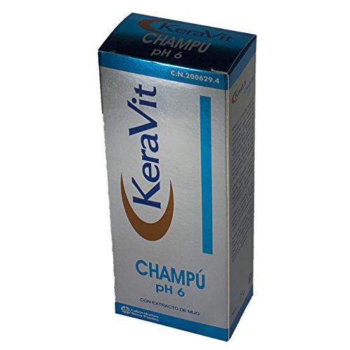 Serra Pamies Keravit Champú PH6, 200 ml, Pack de 1
