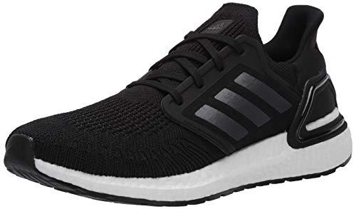 adidas Men's Ultraboost 20 Running Shoe, Black/Night Metallic/White, 10 M US