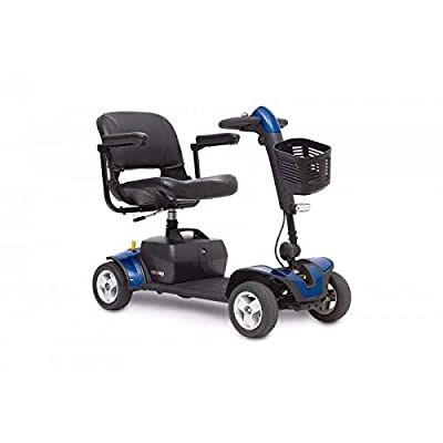 Pride Mobility Go-Go Elite Traveller Sport Mobility Scooter – Lightweight Electric Scooters for Adult