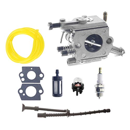 Carburetor Carb Kit C1Q-S126B for Stihl MS200 MS200T 020T MS 200 MS 200T Chainsaw Engines with 1129 350 3600 Fuel Line