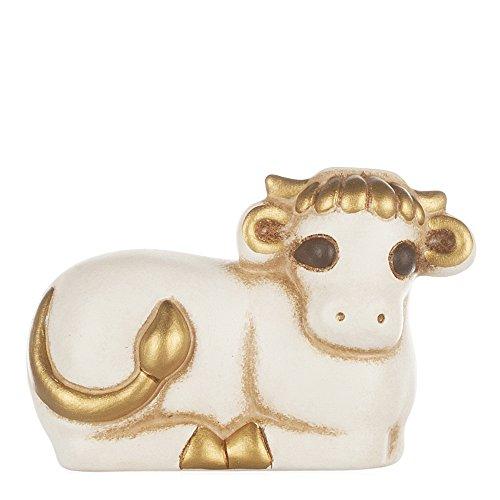 THUN® - Bue Bianco - Statuine Presepe Classico - Ceramica - I Classici