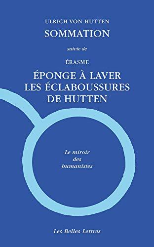 Sommation Suivie De Eponge a Laver Les Eclaboussures De Hutten